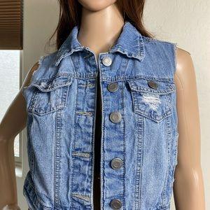 Mossimo Jean Vest X/S T/B